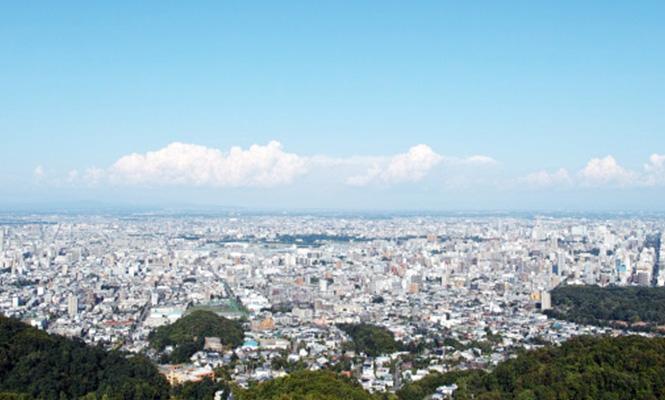 札幌市内景色